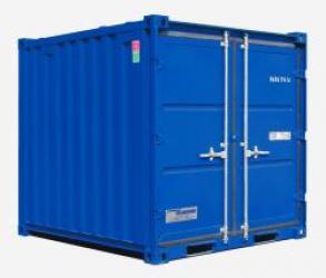 Container d'entreposage 8'